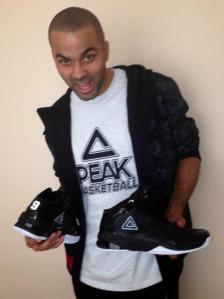 Peak Tony Parker 9 black