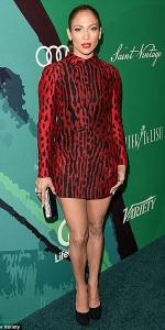 jennifer-lopez-Valentino-leopard-print-shirt-dress