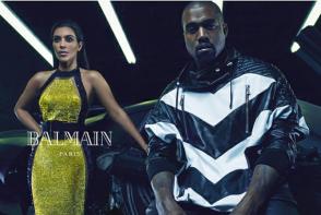 kanye-west-kim-kardashian-couple-sensuelle-pour-balmain-2014