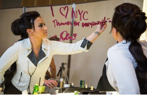 Demi Lovato pour NYC