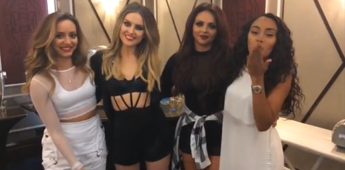 le parfum des Little Mix