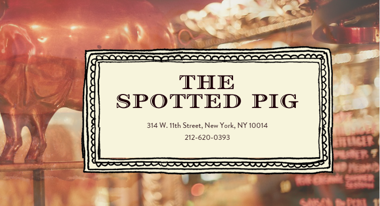 Kanye West The Spotted Pig New York